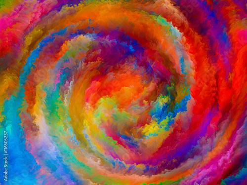 Fotografie, Obraz  Digital Life of Colors