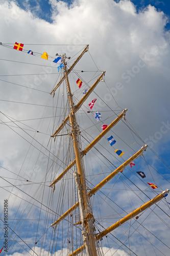 Valokuva  ship's masts