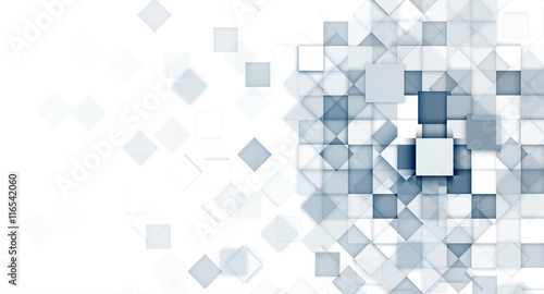 Light Blue Abstract Web Geometric Banner Background For