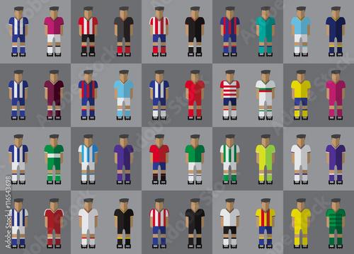 Fotografie, Obraz  Spanish football team kit season 2016/2017