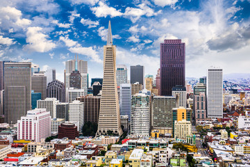 Obraz na PlexiSan Francisco, California Skyline
