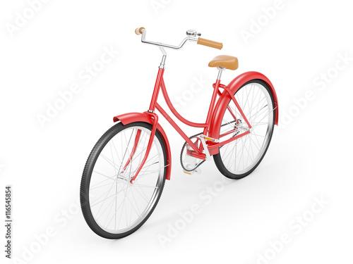 Cadres-photo bureau Velo red bicycle vintage