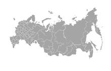 Vector Map Of Russian Federati...