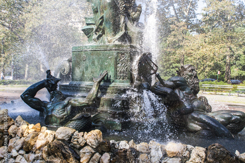 Photo  Bailey Fountain in New York City