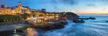 Evening Panorama Of Biarritz