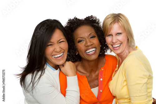 Fotografie, Tablou  Diverse Group of Friends Laughing