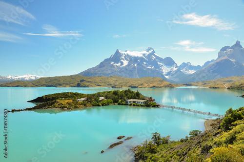 Fotografie, Obraz  Great lake at Torres del Paine National Park