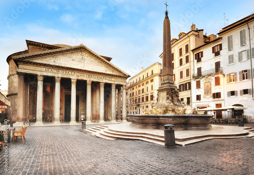 Poster Rome Piazza della Rotonda, Pantheon, Rome