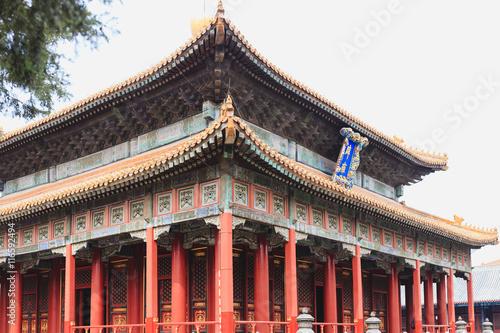 Valokuva  Confucius temple, Beijing, China