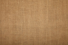 Brown Burlap Jute Canvas Texture Background