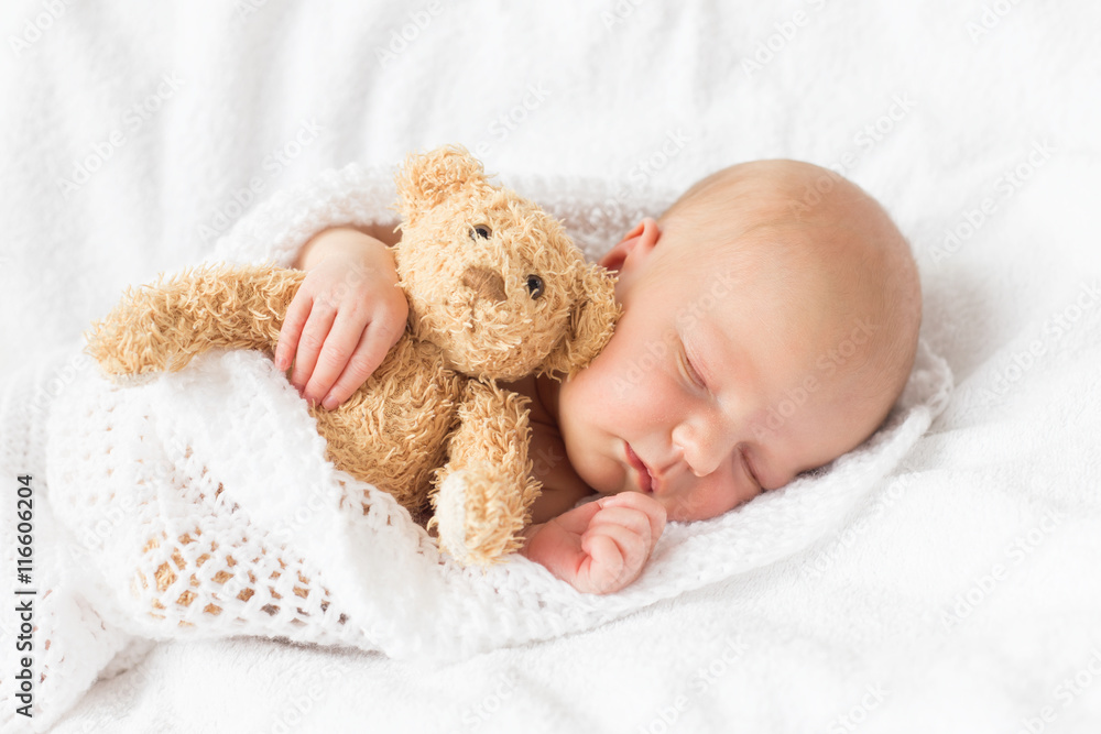Photo  Newborn baby sleeping