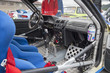 INTERIOR DE UN COCHE DE RALLY