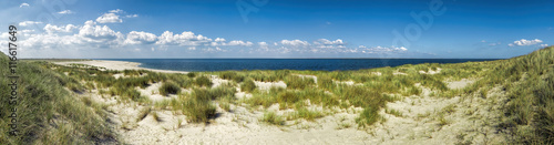 Canvas Prints North Sea Dünenpanorama Nordseeinsel