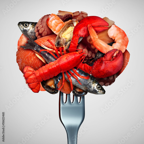 Photo  Seafood Concept