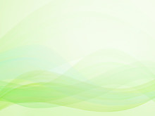 Abstract Wavy Background Green