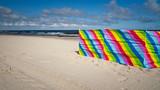 Fototapeta Fototapety z morzem do Twojej sypialni - Parawan na plaży