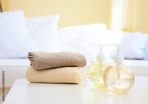Fotografie, Obraz  towel spa object