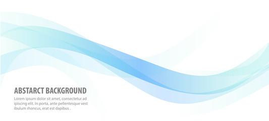 apstraktna plava linija pozadine vala