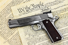 Hand Gun And Constitution