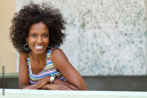 Photographie  Beautiful mature African American woman.