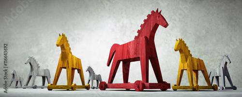 Valokuva  Trojanische Pferde 2