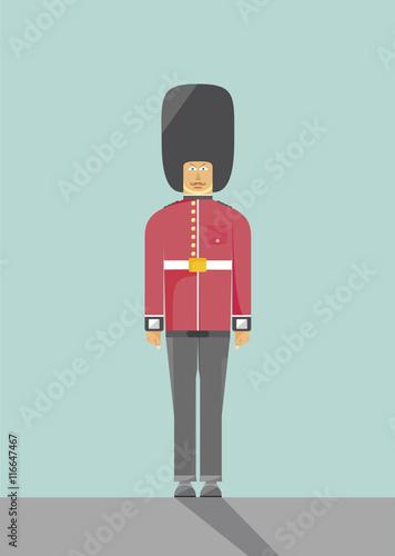 Photo  Queen's Guard, london,