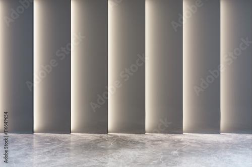 Fototapeta Abstract grey interior obraz na płótnie