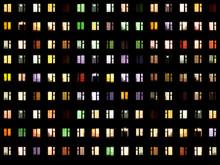 Seamless Texture - Night Windows