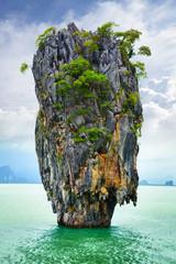 Fototapeta Morze Bond island (Ko Tapu) in Thailand