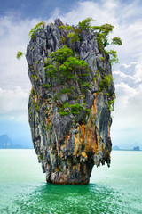 FototapetaBond island (Ko Tapu) in Thailand