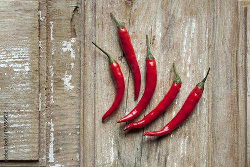 Fotografie, Obraz  Piments rouges
