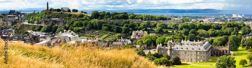 Poster de jardin Paris Panoramic Edinburgh