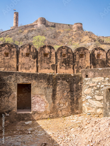 Papiers peints Fortification Jaigarh Fort in Jaipur, India