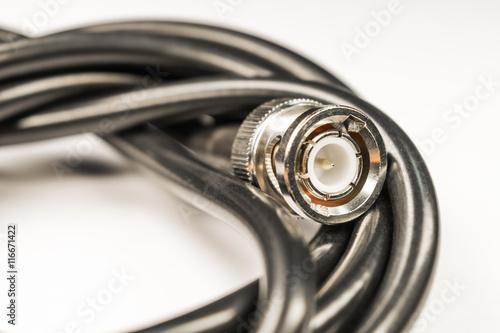 Fotografía  BNC cable