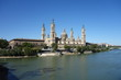 "The basilica of ""El Pilar"" of Saragossa in a sunny day. Taken on the 23rd of July of 2016"