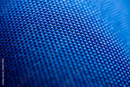 Türaufkleber Makrofotografie macro blue fabric texture