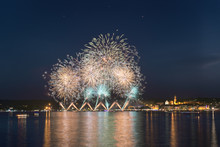 Fireworks, Lakefront Of Arona ...