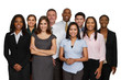 canvas print picture - Diverse Business Team