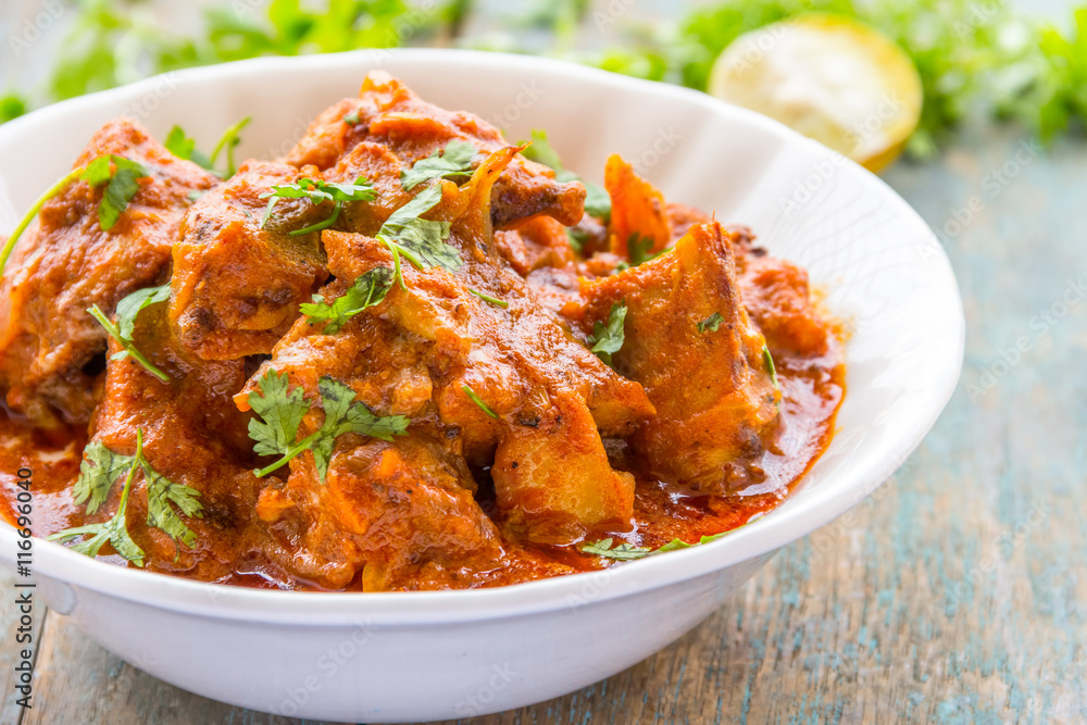 Fototapety, obrazy: Chicken Tikka Masala - Spicy Chicken Curry Dish