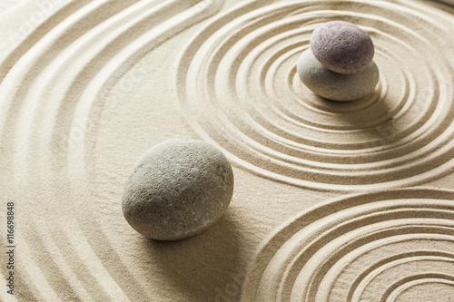 Fotobehang Zen Zen stone garden