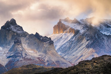 Snow Covered Mountains, Chile
