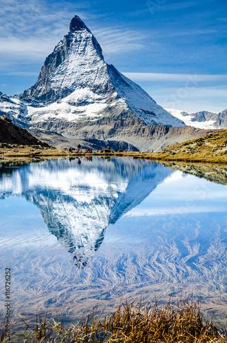 Matterhorn, Zermatt, Wallis, Schweiz Canvas Print