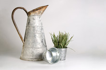 Pitcher Old Tinware