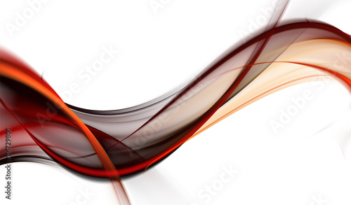 Foto op Plexiglas Fractal waves Elegant abstract design