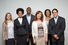 Diverse Group Of Business People.