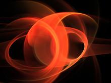 Abstract Orange Fractal