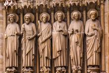 Biblical Saint Statues Door No...