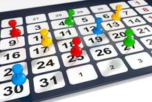 3d Kalender, Termine Müssen Organisiert Und Eingetragen Werden.
