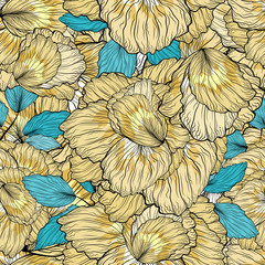 FototapetaSeamless Floral Ornament Pattern