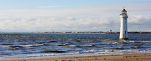 A View Of New Brighton, Or Perch Rock, Lighthouse